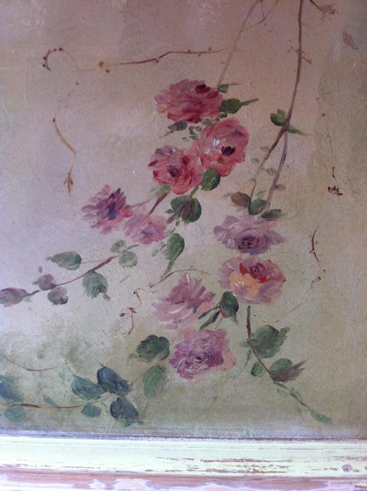 Roses peintes