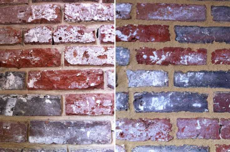 zoom mur de brique