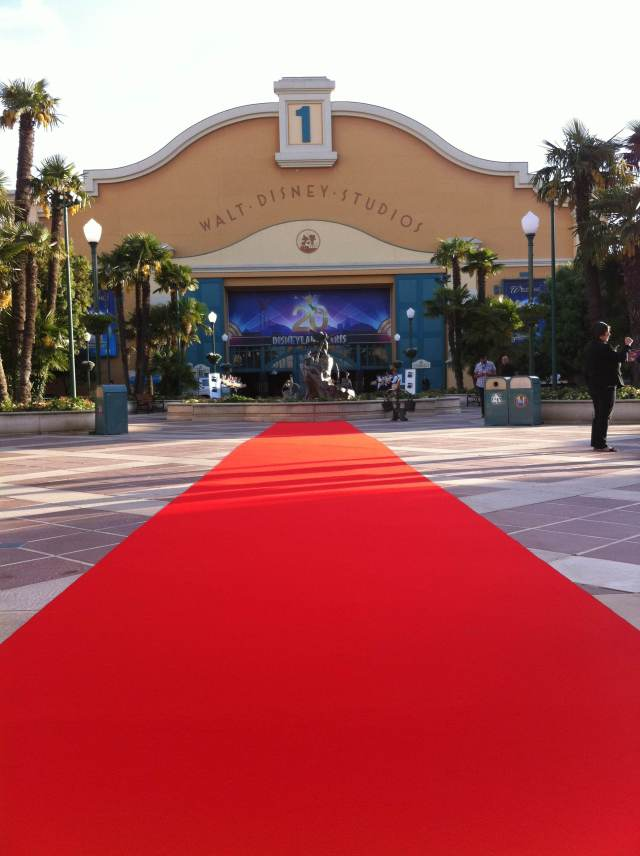 Disney Studio Tapis Rouge