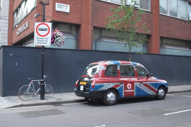 Londres Taxi Cab