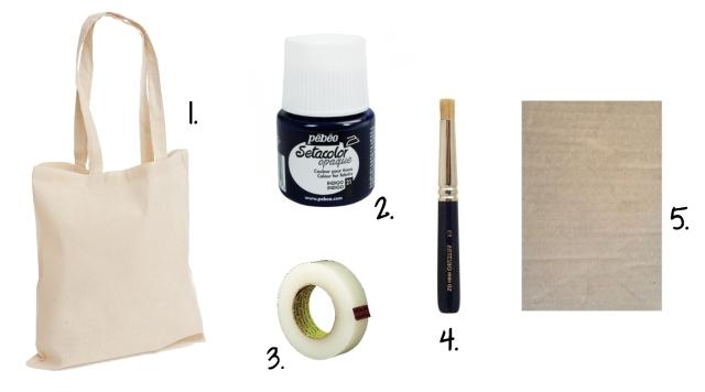 DIY Tote Bag - Outils