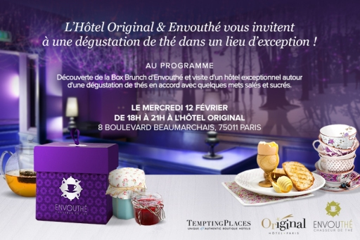 Envouthé Hotel Original - Invitation 12 fevrier