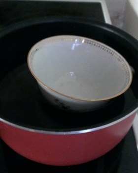 DIY Bougie Tasse - chauffe tasse