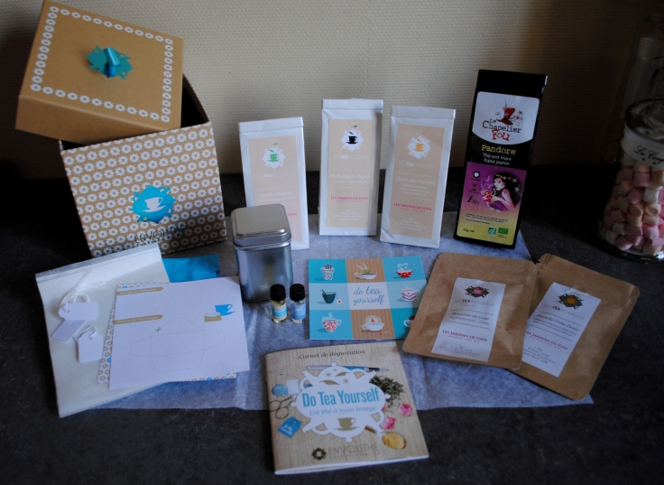 Envouthé Do Tea Yourself - contenu box
