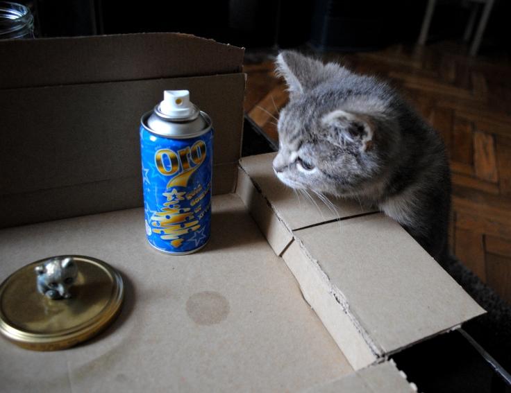 Pot animal - peinture