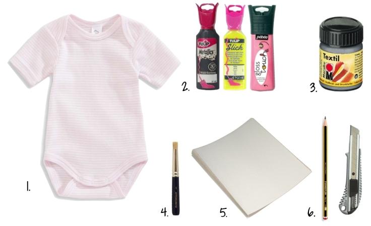 diy body bébé 2- outils
