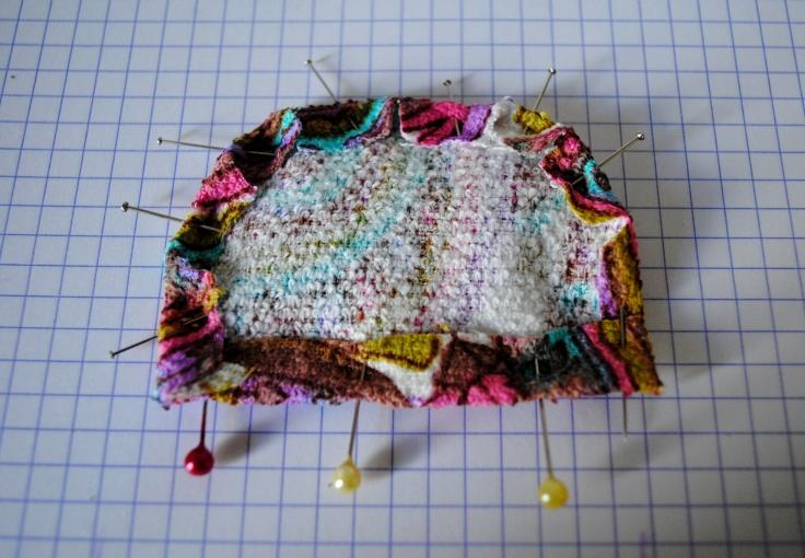 DIY T-shirt Bonnet Lunettes - etape 3