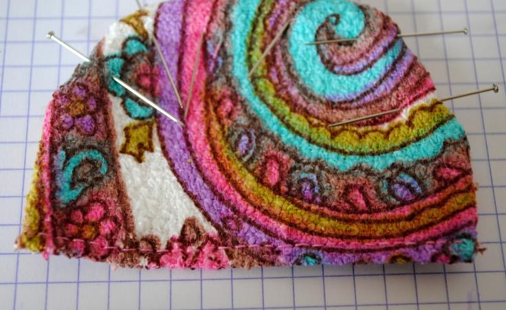 DIY T-shirt Bonnet Lunettes - etape 4-1