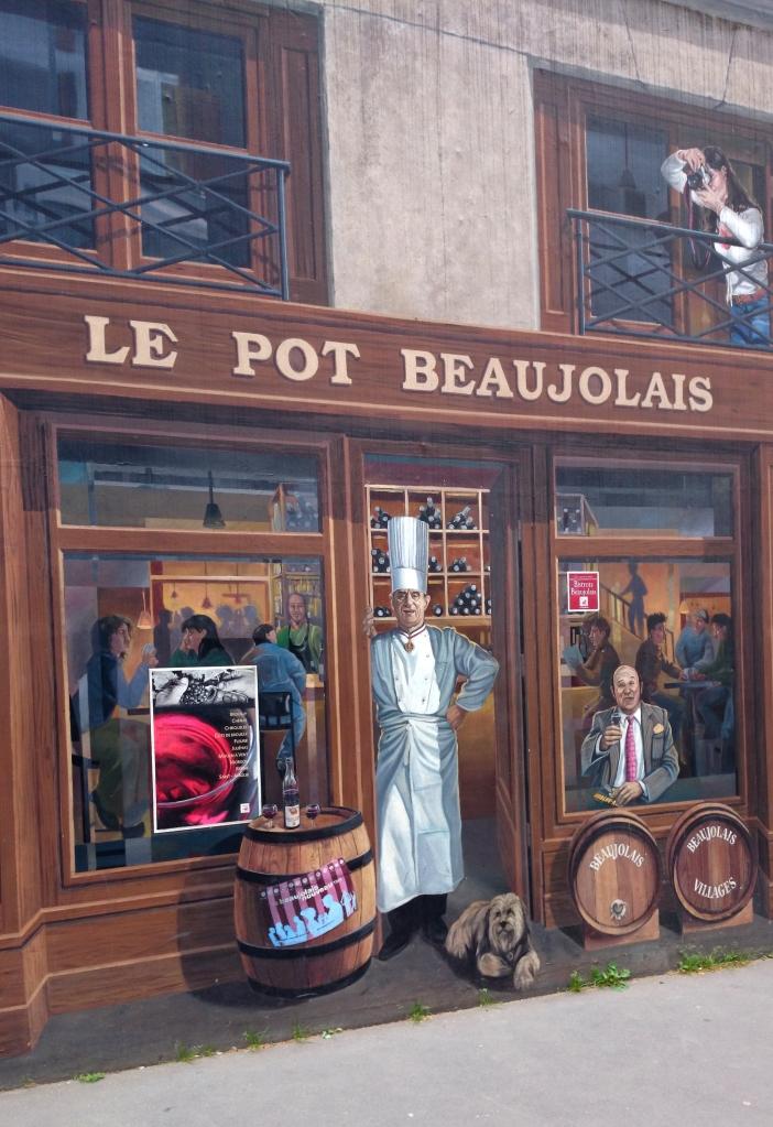 Week-end à Lyon - Fresque des Lyonnais Bocuse