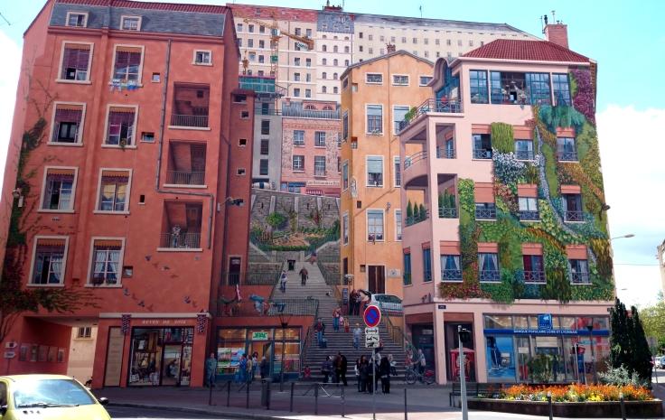 Week-end à Lyon - Mur des canuts