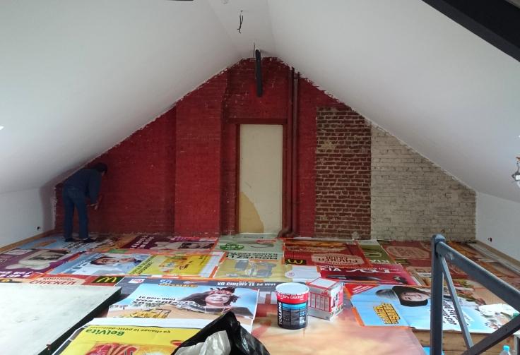 Aménagement Grenier - peinture