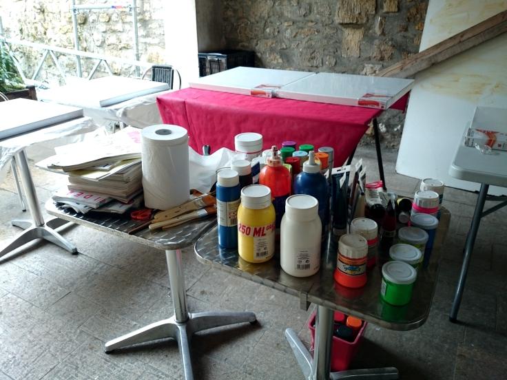 atelier peinture Epicerie d'Art - fournitures