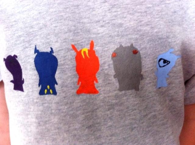 DIY T-shirt Slugterra - 08