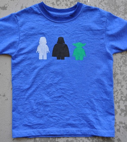 DIY T-shirt Slugterra - Lego star wars tee