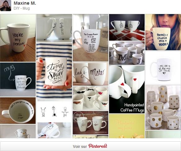 DIY Mug - Pinterest