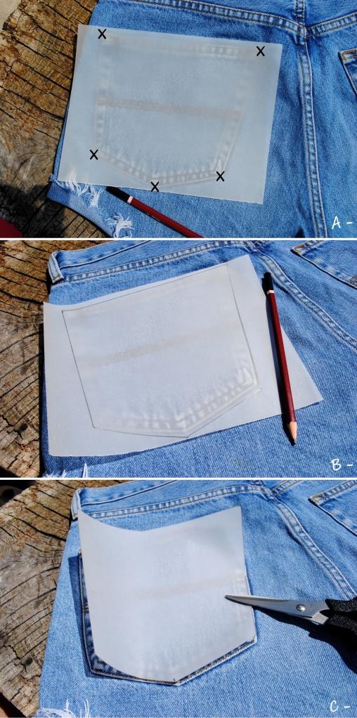 DIY Short Pocket Zebre - 0123