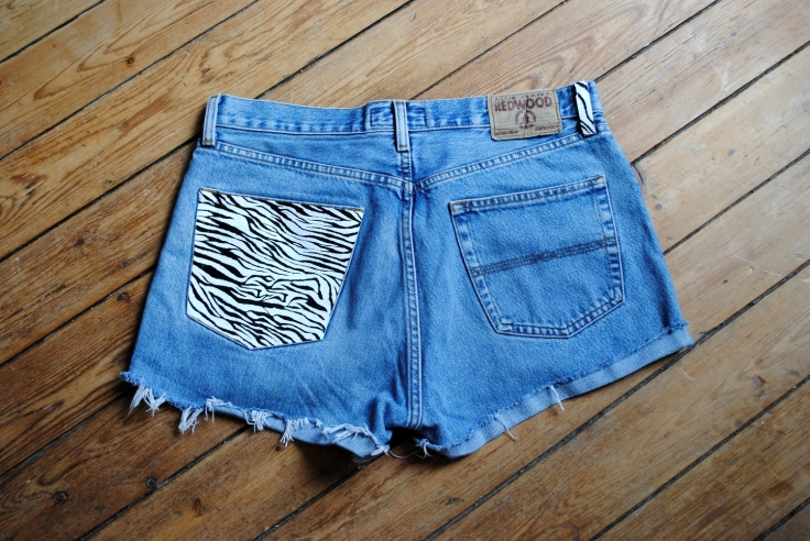 DIY Short Pocket Zebre - 07