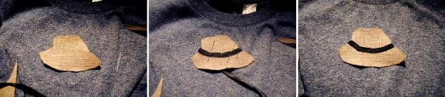 DIY T-shirt Moustache Panama - 05