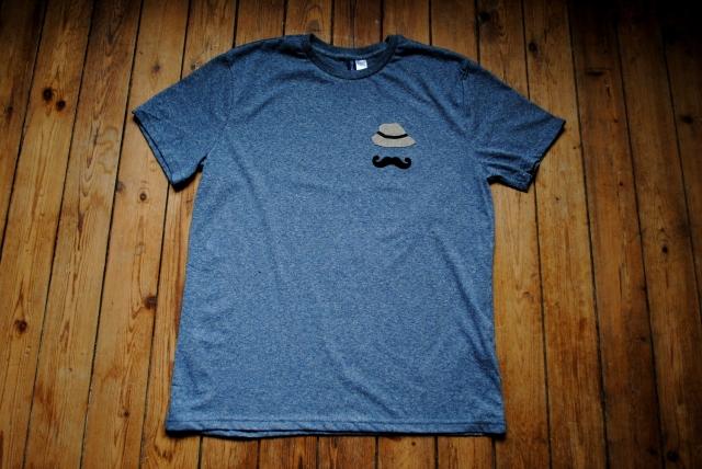 DIY T-shirt Moustache Panama - 13