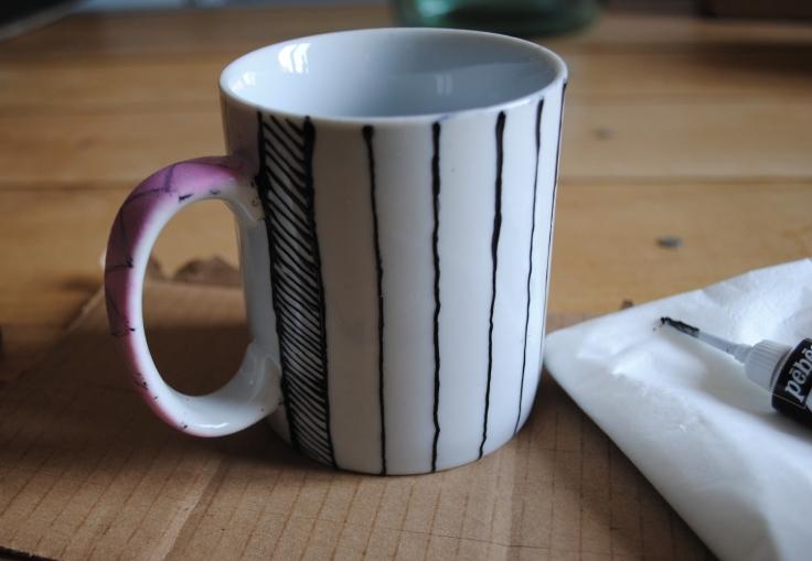 DIY Tire Mug - 02