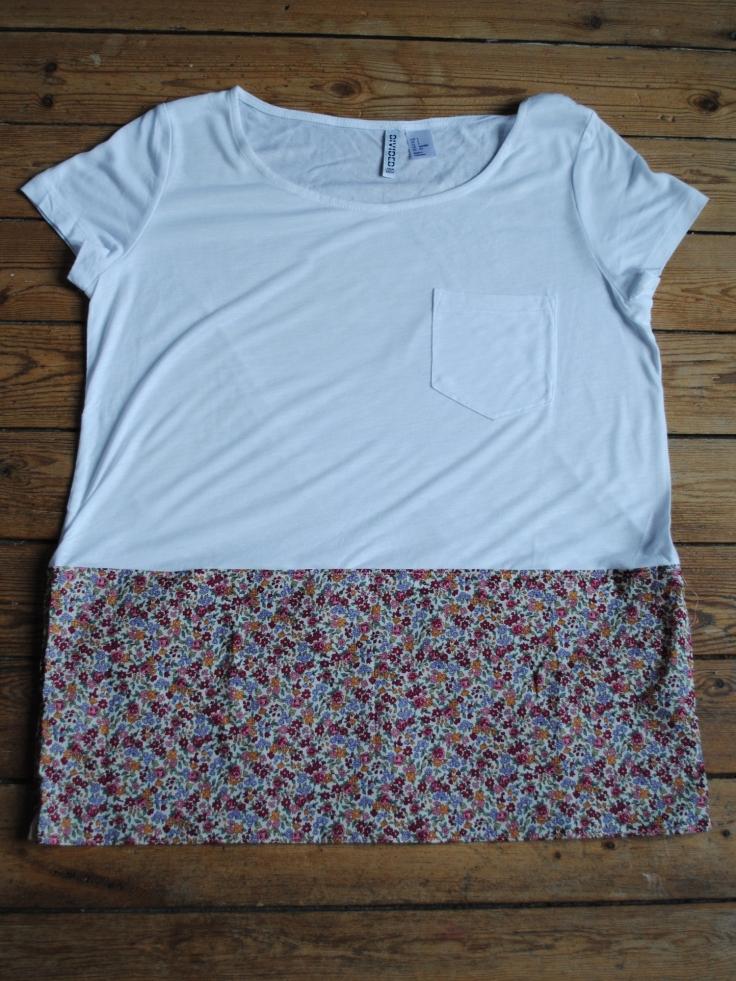 DIY T-shirt Froufrou - fini 1