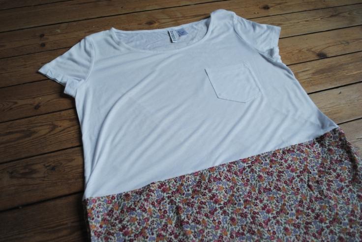 DIY T-shirt Froufrou - fini 3
