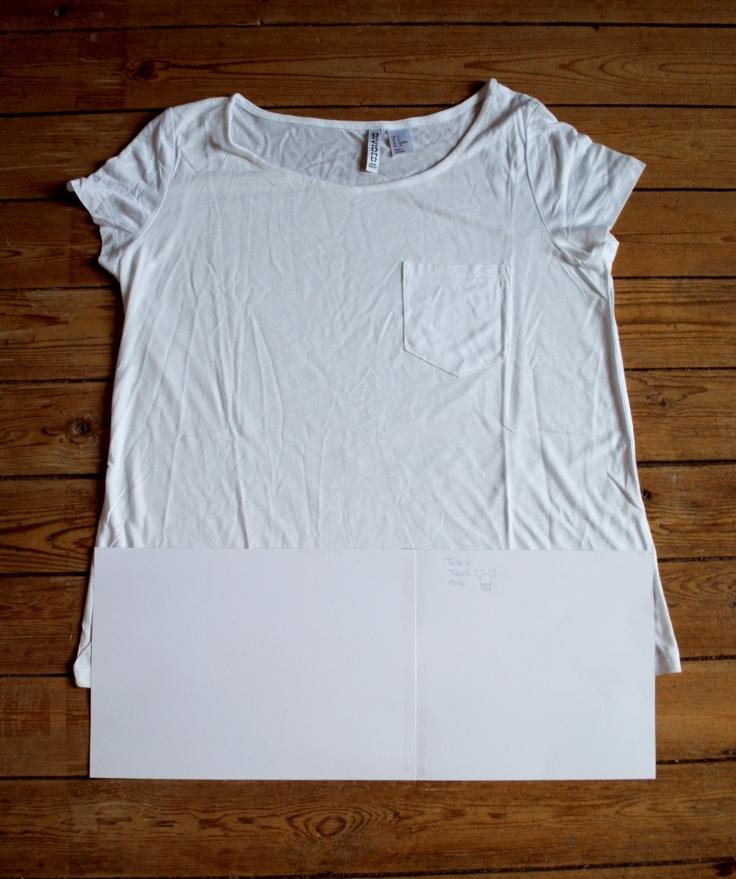 DIY T-shirt Froufrou - patron