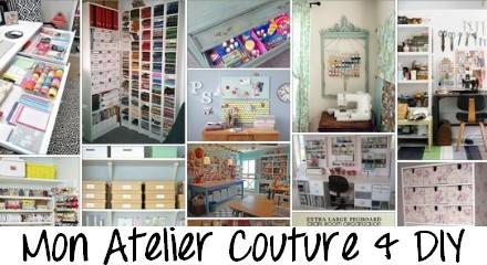 Mon Atelier Couture & DIY #1 | MMaxine ♥ Blog DIY, déco et lifestyle