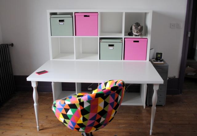 Atelier DIY Couture - atelier couture kallax ikea 02