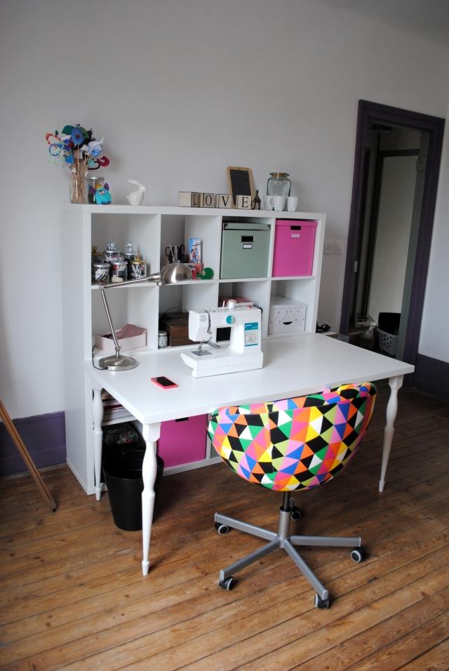 Atelier DIY Couture - atelier couture kallax ikea 03