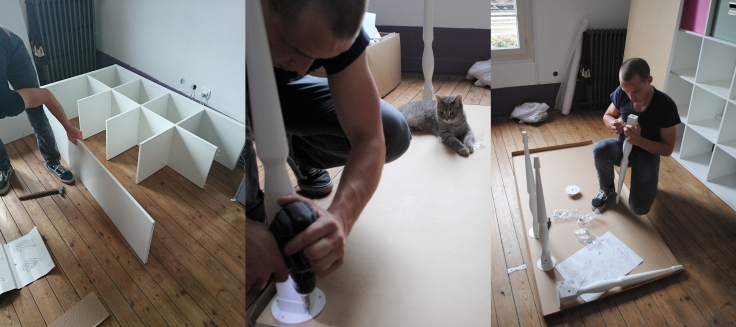 Atelier DIY Couture - construction meuble ikea