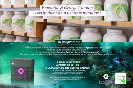 Envouthe George Cannon invitation