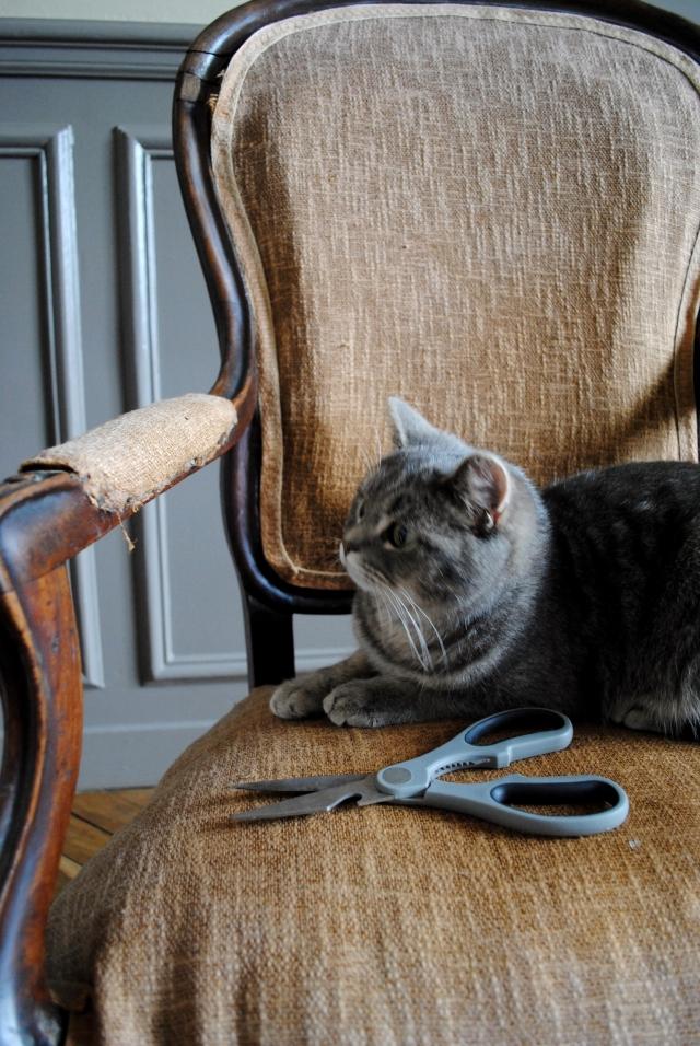 DIY Retapisser un fauteuil - 02