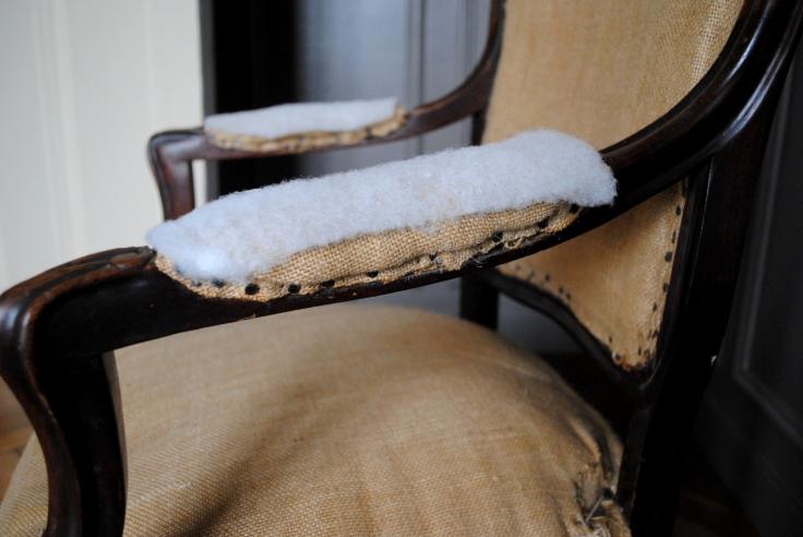 DIY Retapisser un fauteuil - 03