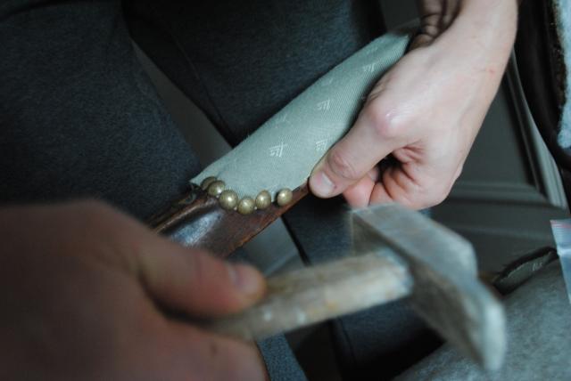 DIY Retapisser un fauteuil - 07