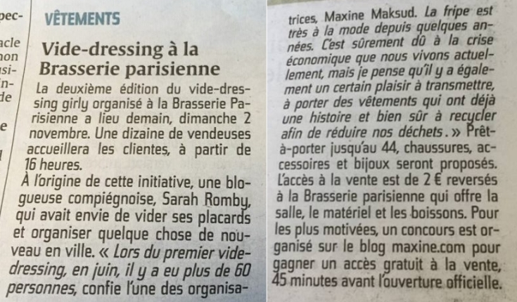 Vide Dressing Compiègne - Courrier Picard