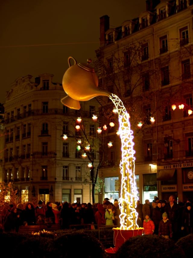 Fete des lumieres Lyon - 04 Genie Lampe