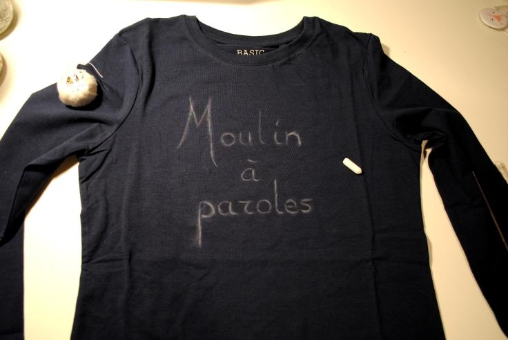 DIY T-shirt Moulin a Paroles 01