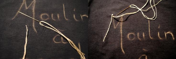 DIY T-shirt Moulin a Paroles 02