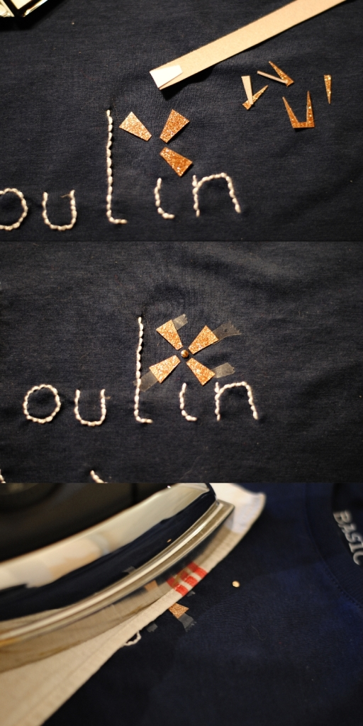 DIY T-shirt Moulin a Paroles 03