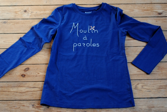 DIY T-shirt Moulin a Paroles 04