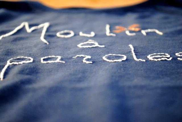 DIY T-shirt Moulin a Paroles 06