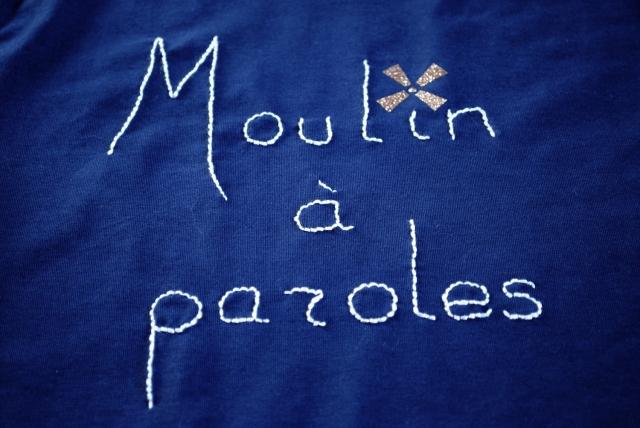 DIY T-shirt Moulin a Paroles 07