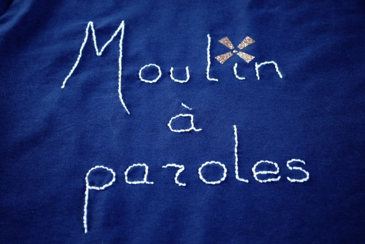 DIY T-shirt Moulin a Paroles 07