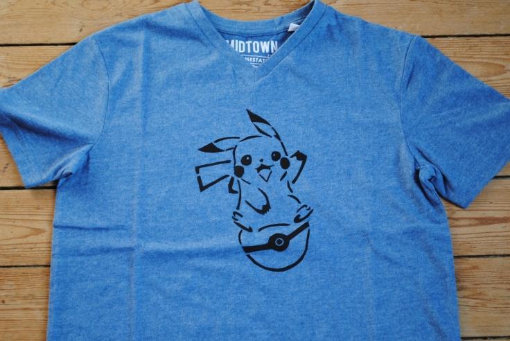 DIY T-shirt Pikachu - 07