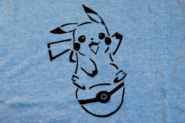 DIY T-shirt Pikachu - 09