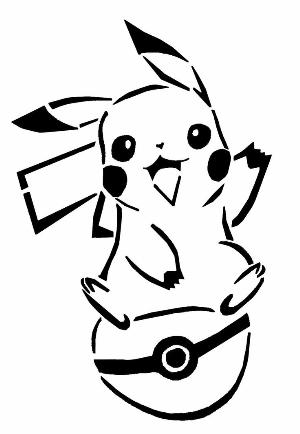 DIY T-shirt Pikachu - Pikachu