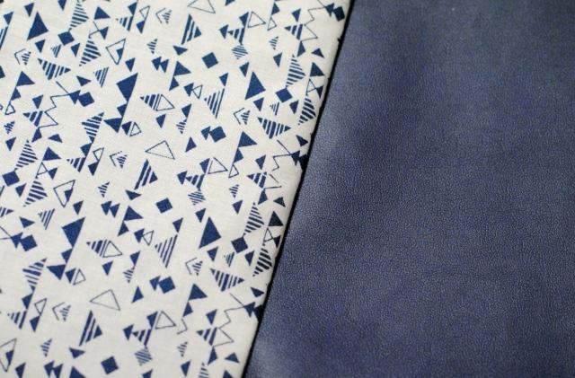 DIY - Couture Pochette Bleue Zippée 10