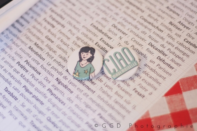 EVJF Lyon - badges personnalises