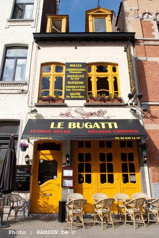 Manger à Bruxelles - Le Bugatti 01